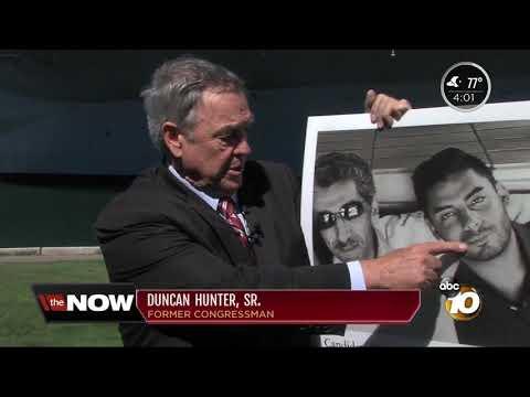 Hunter Sr. calls son's opponent, Campa-Najjar, threat to U.S.