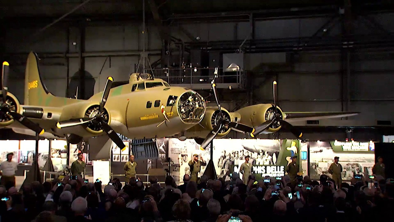 the best attitude 81e09 37c26 Memphis Belle Unveiling