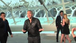 George Clooney y Amal, de tequilas en Ibiza con Cindy Crwford y su marido