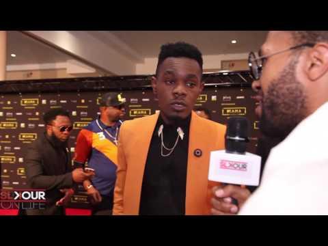 Interview(s): Falz, Patoranking x Sarkodie At #MTVMAMA2016 Red Carpet