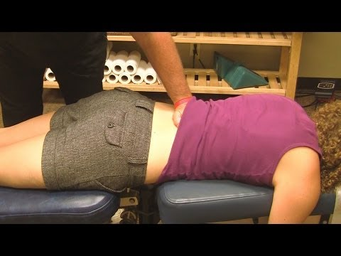 5 Chiropractic Adjustments, Low Back Adjustment Part 4 ...