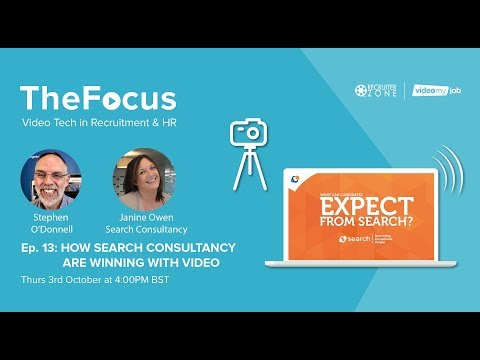 The Focus Ep.13: How Search Consultancy Are Winning With Video