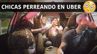 Chicas Perreando En Uber - (Historias de uber)