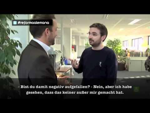 Die deutsche Arbeitswelt aus Sicht eines Spaniers (mit dt. UT)