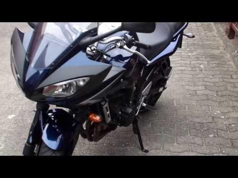 S2 schwarz Seitenst/änder f/ür Yamaha FZ6 Fazer