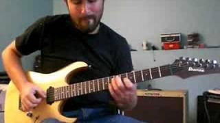 Before He Cheats Cover - Carrie Underwood - Guitar Instrumental