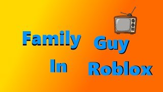 Family Guy Parody [SHORT FILM] (Roblox Cinematic Studios)