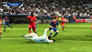 PES 2012 PC Gameplay HD | FC Barcelona vs. FC Bayern München | Champions League Finale