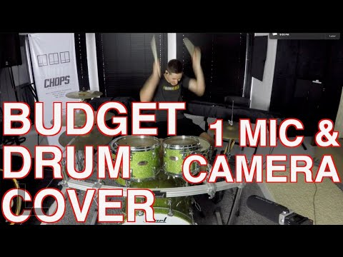 BUDGET DRUM COVER – Ozzy / Post Malone – Take What You Want
