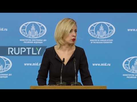 Russia: Montenegro supports anti-Russia information campaign in country - Zakharova