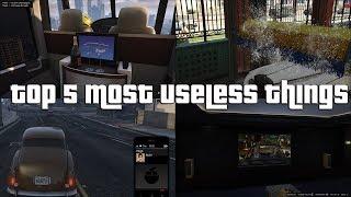 GTA Online Top 5 Most Useless Things