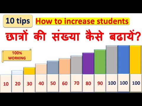 How to increase students in coaching / Tuition classes - How to increase students in school