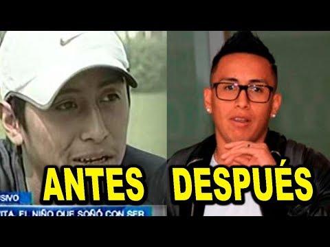 EL ANTES Y DESPUES DE LOS FUTBOLISTAS DE LA SELECCION PERUANA