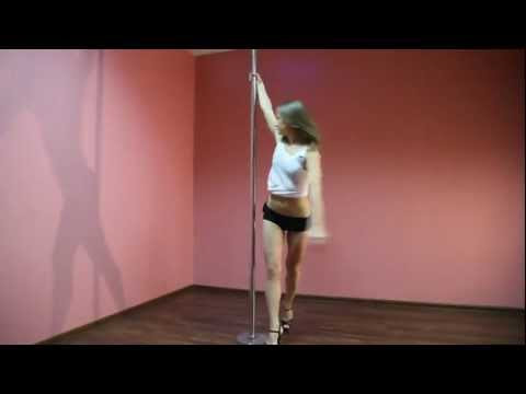 Pole Dance — танец на пилоне. Часть 2