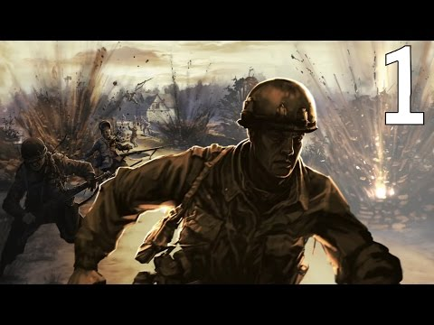 Company of Heroes Causeway Part 1 Cauquigny: Drop on the Causeway |