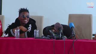 Diamond Platnumz -   call from Tanashadonna ( Press Conference Nairobi)