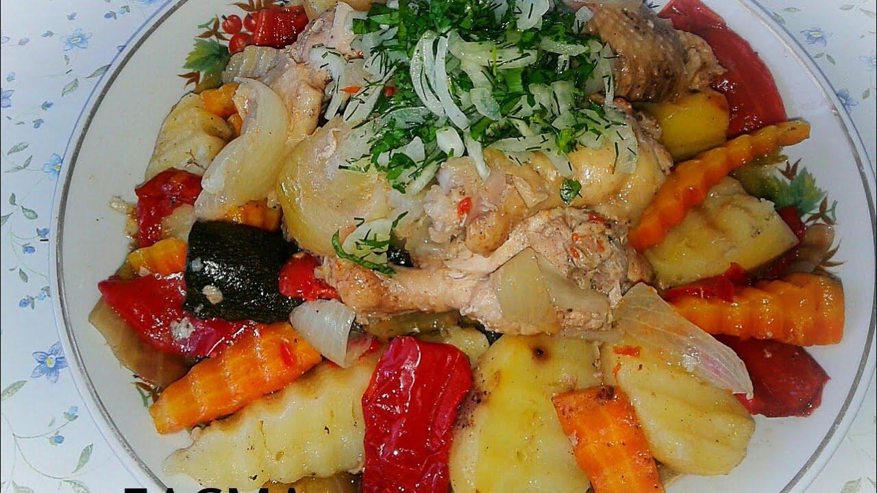 Басма по Сибирски. ( узбекское блюдо)