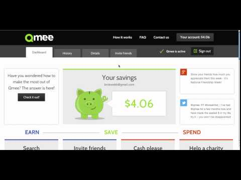 Get Paid To Search The Internet WIth Qmee