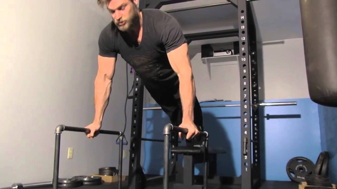 Fitness at home hd homemade parallettes best for dips