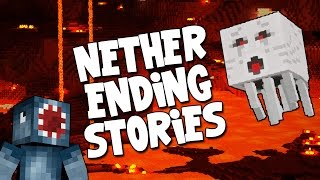 Minecraft - Boss Battles - Nether Ending Stories! [12]