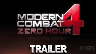Modern Combat 4 - Launch Trailer