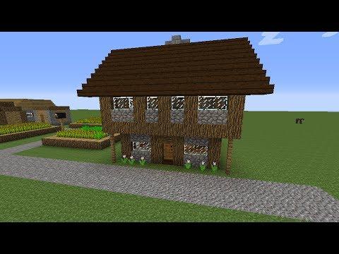 Minecraft cum s construie ti o cas medieval part 1 for Case belle su minecraft