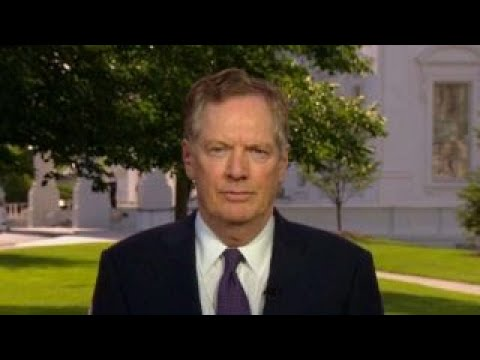 Robert Lighthizer: Can't find ourselves second to China in technology