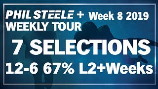 Phil Steele Plus Tour Week #8 Oct 18th