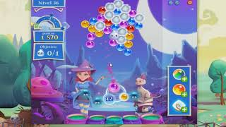 Bubble Witch Saga Level 36