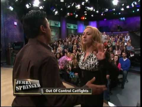 Out Of Control Catfights (The Jerry Springer Show) from YouTube · Duration:  3 minutes 3 seconds