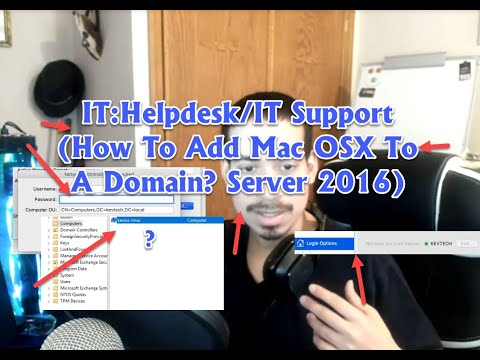 IT: Helpdesk/IT Support (How To Add A Mac Machine To A Domain Server 2016?)