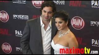 SUNNY LEONE Arriving at 2010 AVN AWARDS SHOW Las Vegas