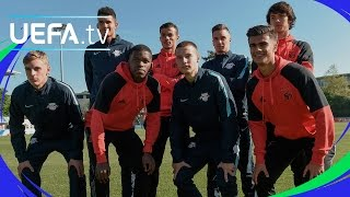 UEFA Youth League finalists show off their skills