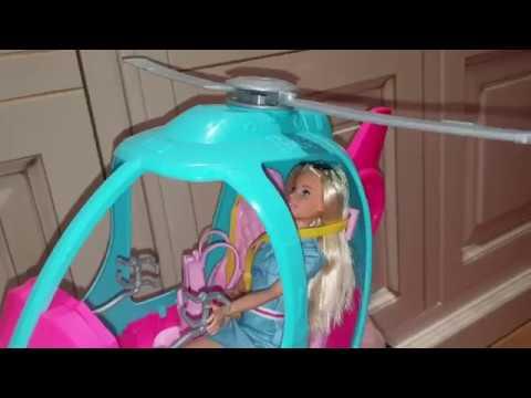 Обзор вертолета Барби.Barbie Dreamhouse Adventures.