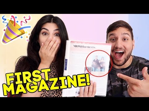 BRAMTY GETS FEATURED IN HER FIRST MAGAZINE!!! *SUPER EXCITING!*