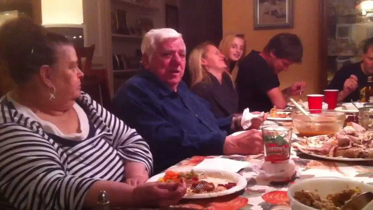 UNCENSORED SuperPop Thanksgiving Family Fight Crazy Old Man