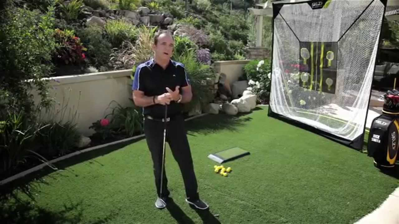 At Home De the sklz golf home practice guide