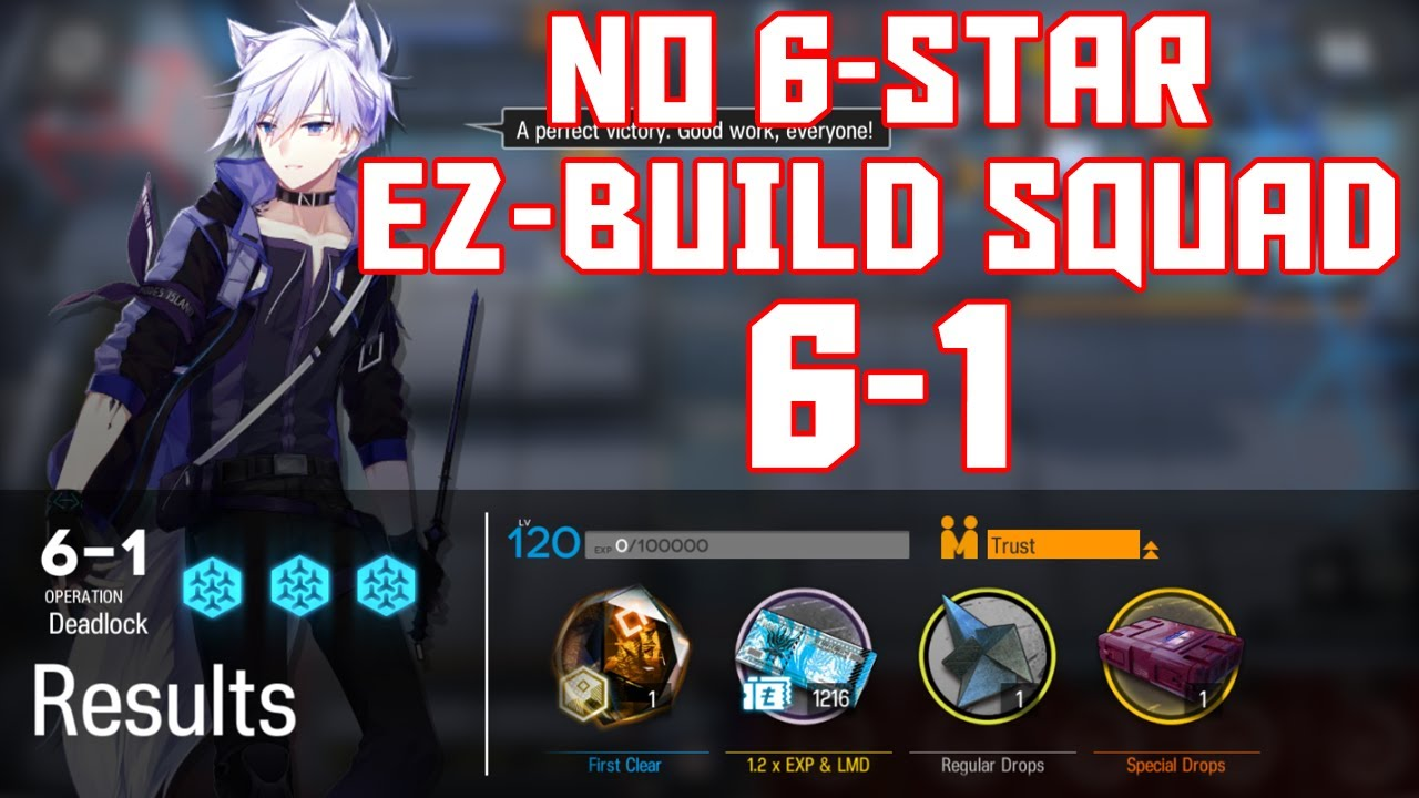 Download 【明日方舟/Arknights】[6-1] - Easy Build Squad - Arknights Strategy