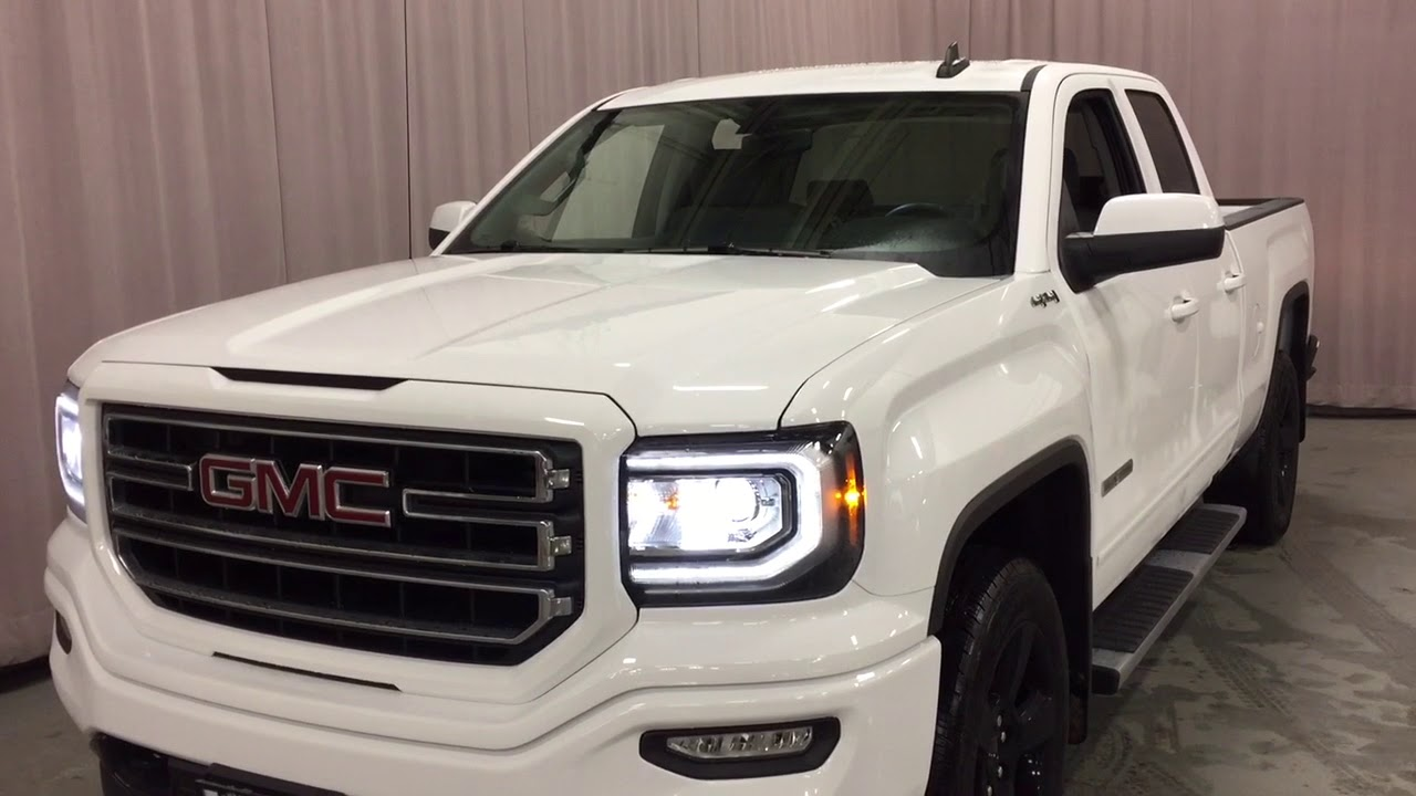 2018 GMC Sierra 1500 4WD Double Cab Elevation Edition ...