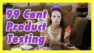 99 Cent Store Product Testing!