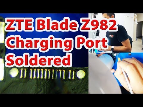 ZTE Blade Z Max Z982 - Charging Port Replacement (Soldered)
