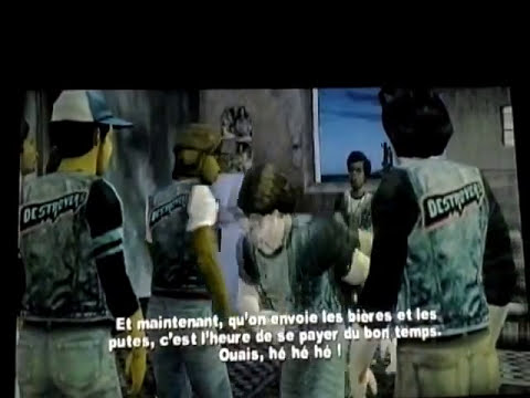 The Warriors le jeu ps2- Destroyers/Real Live Bunch - YouTube