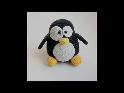 Tutorial Amigurumi Pinguino : Crochet penguin youtube
