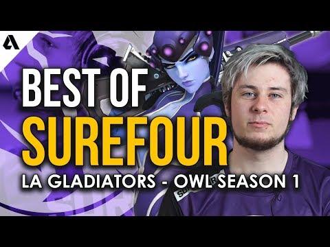 Best Plays of LA Gladiators Surefour | Overwatch League Season 1 thumbnail