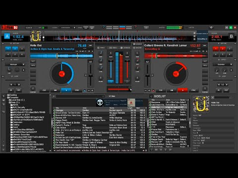 Remake | SKRILLEX Live @Ultra Music Festival 2015 Mix (Virtual DJ 8)