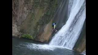 Cascadas de Comala, Chiquilistlan Jalisco Mexico. Abril 4, 2013.