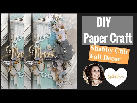 DIY  Paper Craft Fall Wood Tag | DT Project for Reneabouquets | faythchik777's DIY by Design