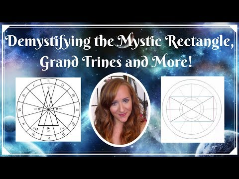 Demystifying the MYSTIC RECTANGLE, GRAND TRINES, and More! Aspect Patterns— LIVE with Heather!