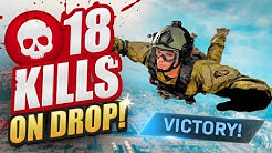 We got 18 KILLS ON DROP! - CoD Warzone