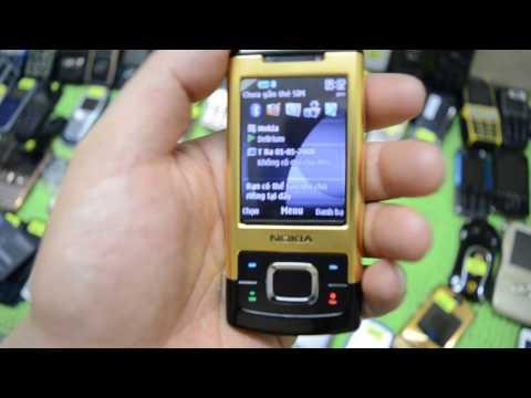 NOKIA 6500 SLIDE GOLD vàng chói phiên bản đặc biệt mới ra mắt Nokia